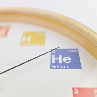 Periodic Table Clock Helium