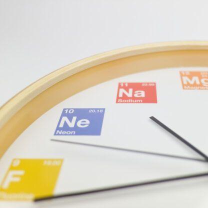 Periodic Table Clock Neon Sodium