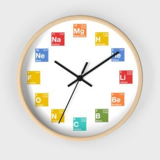 Periodic Table Elements ClockPeriodic Table Elements Clock