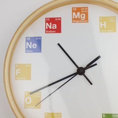 Periodic Table Elements Clock Left