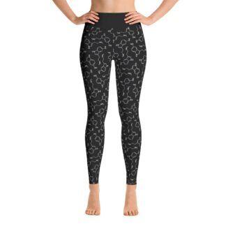 Yoga Leggings Serotonin Black front