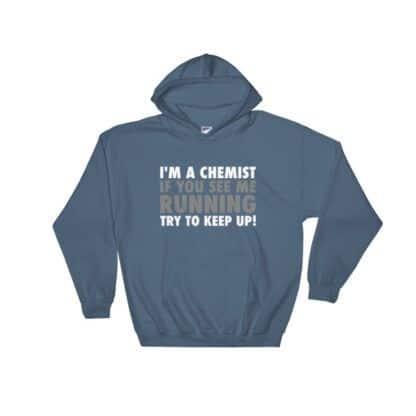 Running chemist hoodie
