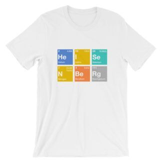 Heisenberg elements t-shirt