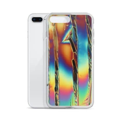 Citric acid crystals iPhone case with iPhone