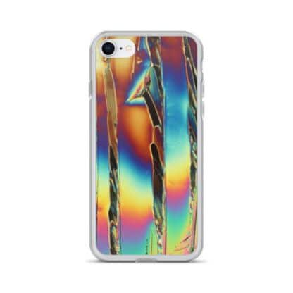 Citric acid crystals iPhone case