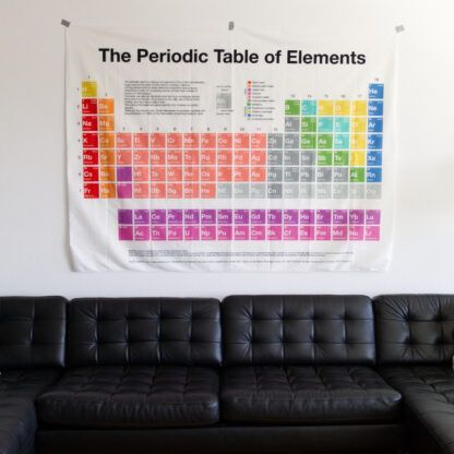 Periodic Table Tapestry