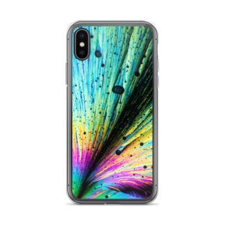 Dopamine crystals iPhone case