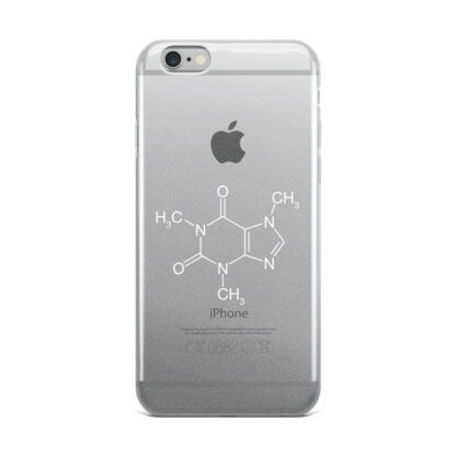 Caffeine Molecule iPhone Case