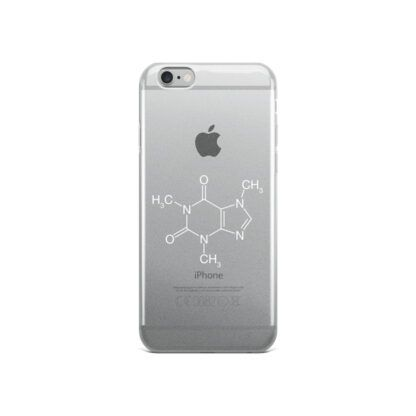 Caffeine Molecule iPhone Case 6