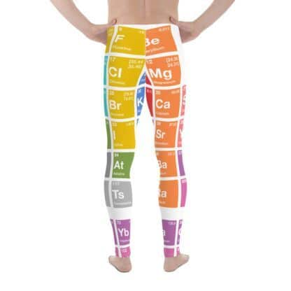 Periodic Table Leggings Men