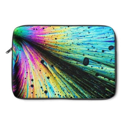 Dopamine crystals laptop sleeve