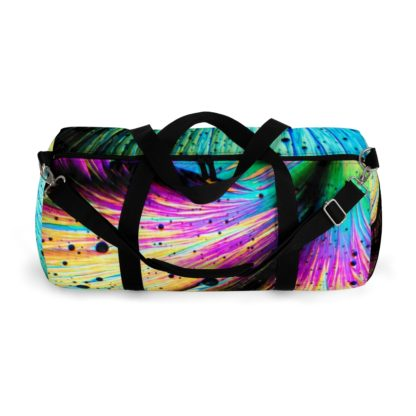 Dopamine crystals duffle bag top