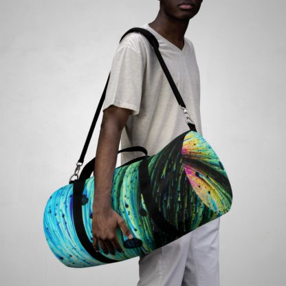 Dopamine crystals duffle bag model