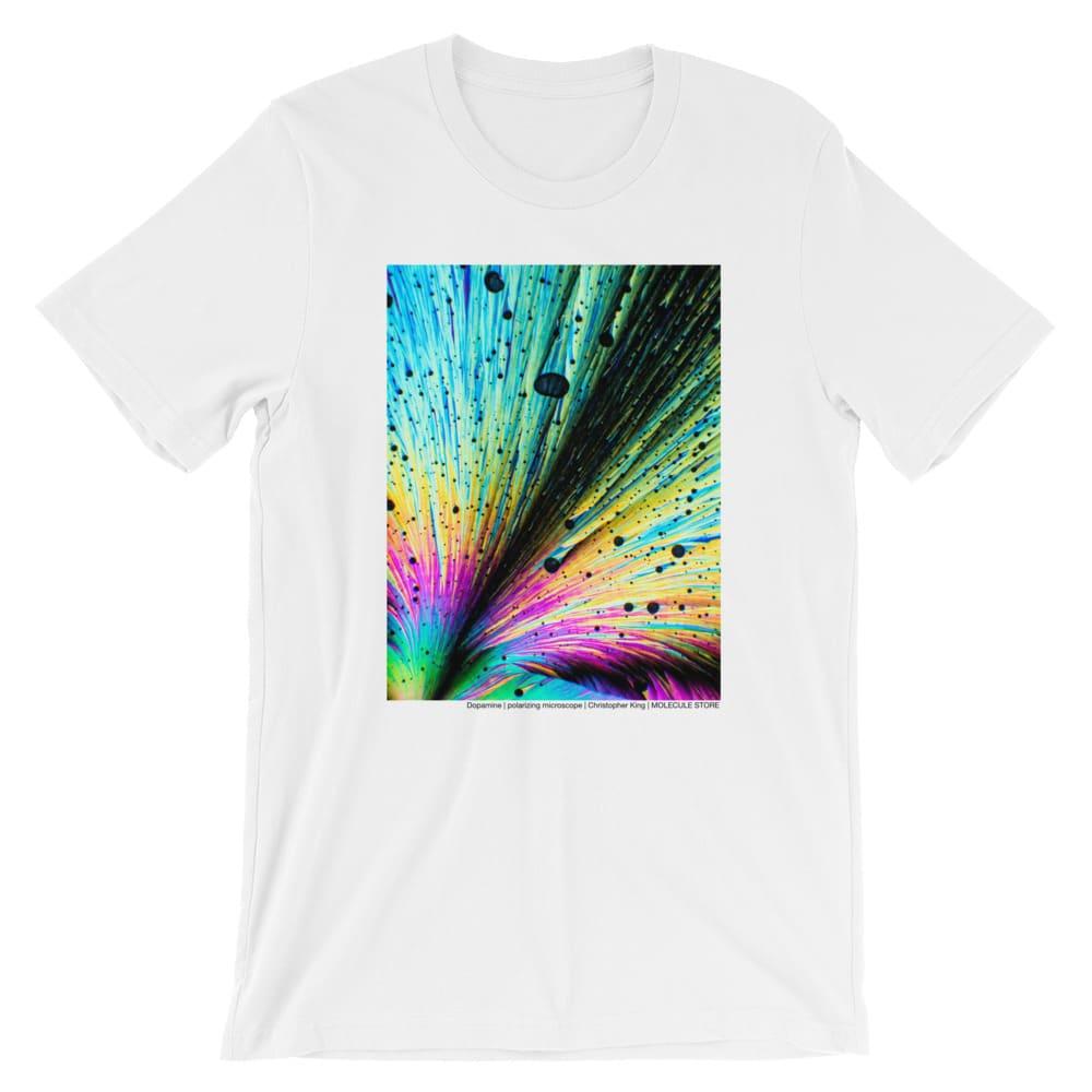 Dopamine rush crystals t-shirt white