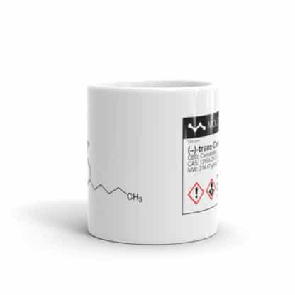 CBD molecule mug normal