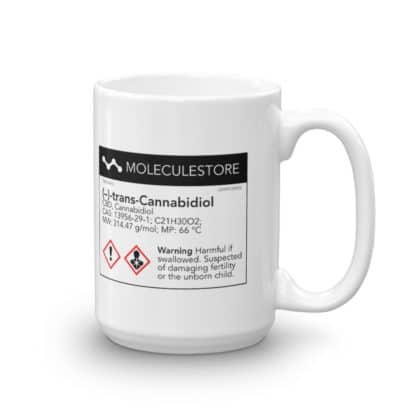 CBD molecule mug side 2