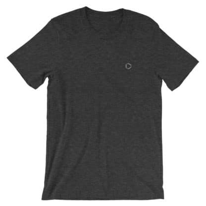 Benzene Molecule T-Shirt Dark Grey Heather