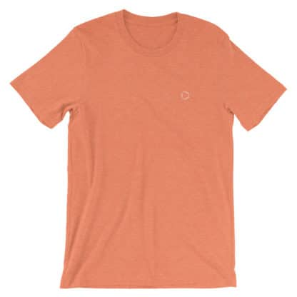 Benzene Molecule T-Shirt Heather Orange