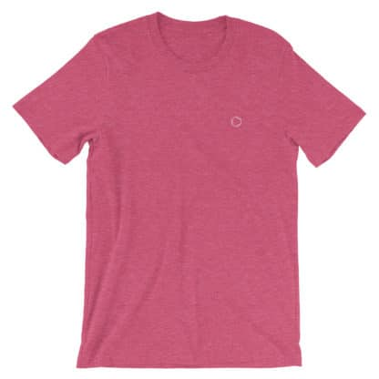 Benzene Molecule T-Shirt Heather Raspberry