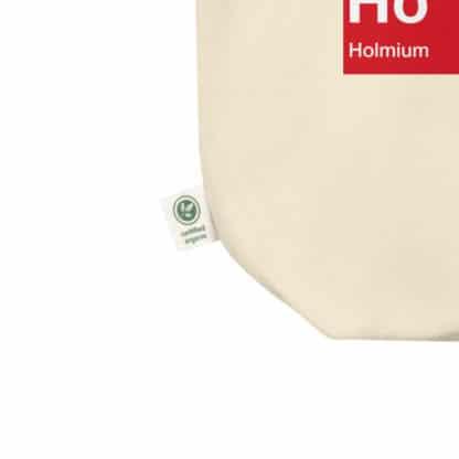 Ho Ho Ho organic tote bag detail
