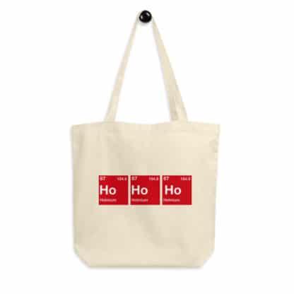 Ho-Ho-Ho organic tote bag