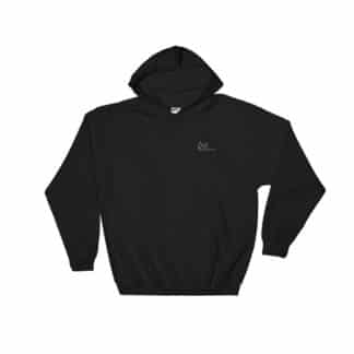 THC Hoodie Embroidered Black