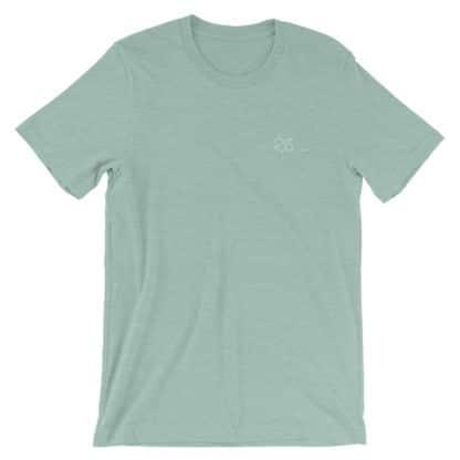 THC molecule t-shirt heather prism