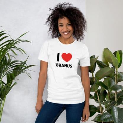 Uranus (PIA18182) heart t-shirt funny