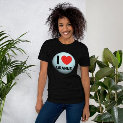 I heart Uranus t-shirt women black