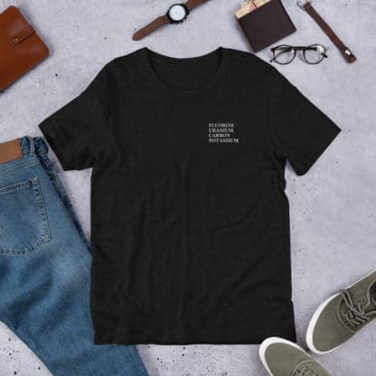 FUCK periodic table elements t-shirt