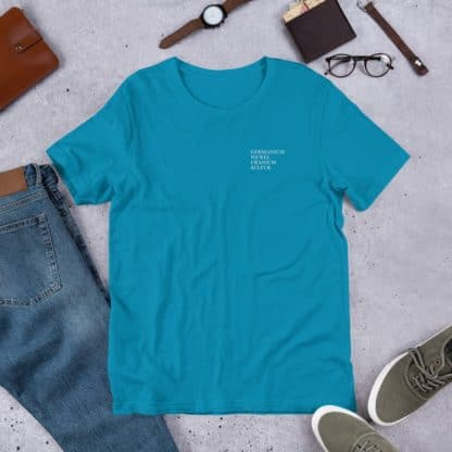 Genius Elements t-shirt aqua