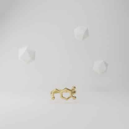 Dopamine Ring Gold Flying