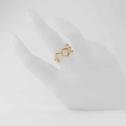 Dopamine Ring Gold Hand