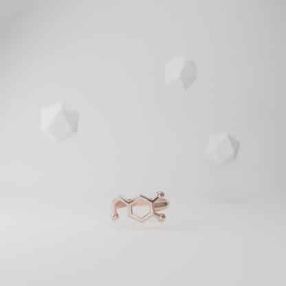 Dopamine Ring Rose Gold Flying