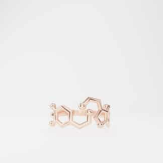 Serotonin and Dopamine Ring Rose Gold