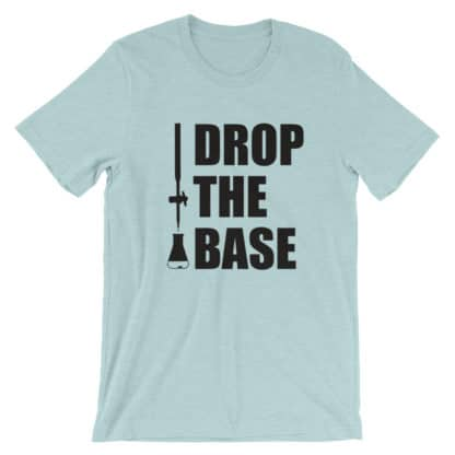 Drop the base t-shirt some heather mint