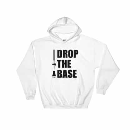 Drop the base hoodie white