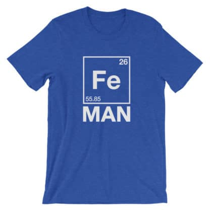Fe Man (Iron Man) T-Shirt blue