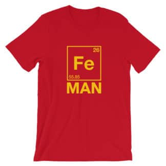 Fe Man (Iron Man) T-Shirt red