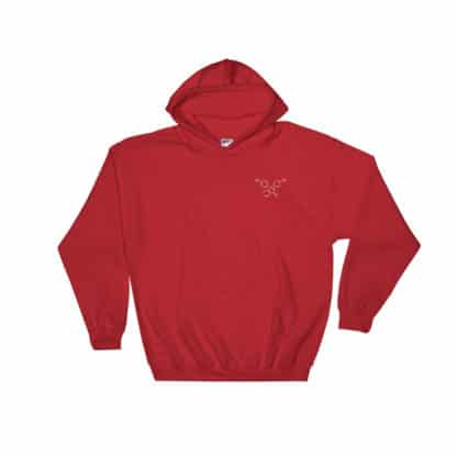 Phenolphthalein Hoodie red