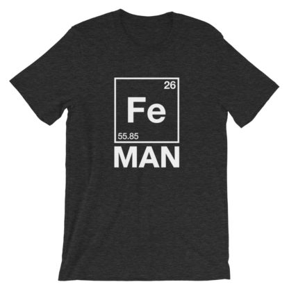 Fe Man (Iron Man) T-Shirt dark