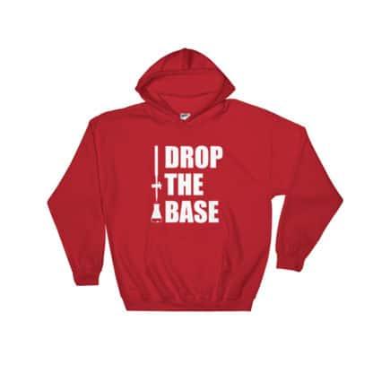 Drop the base hoodie red
