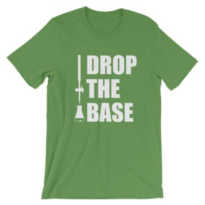 Drop the base t-shirt leaf