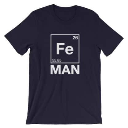 Fe Man (Iron Man) T-Shirt navy