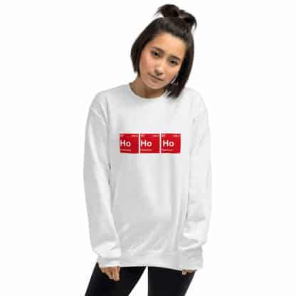 Ho Ho Ho Sweater model
