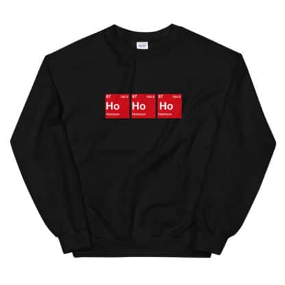 Ho Ho Ho Sweater black