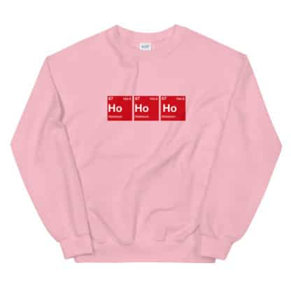 Ho Ho Ho Sweater pink