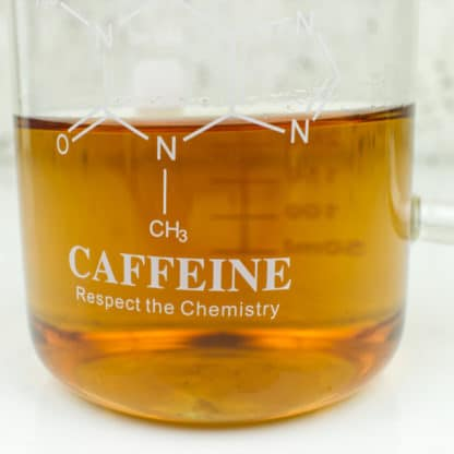 Caffeine Beaker Mug Respect the Chemistry