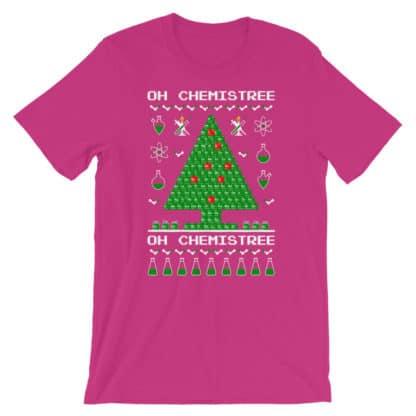 Chemistree t-shirt pink