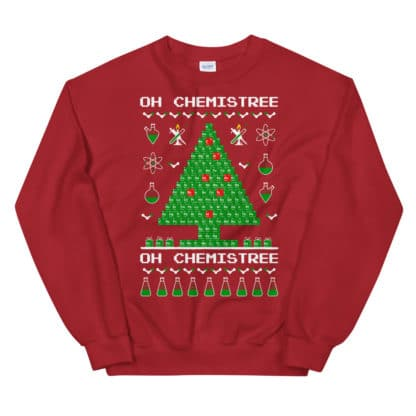 Chemistree sweater red